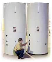Niles Jacketed and Insulated Tank
